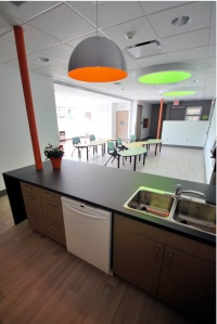 The kitchen area - an important place in any home